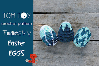 TAPESTRY Easter eggs crochet pattern