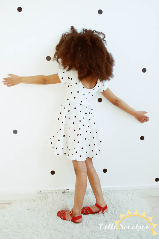 Last Minute RELEASE SALE: Sahara Top & dress pattern for girls - ends in a few hours