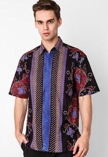 Foto Baju Batik Pria Modifikasi 2016