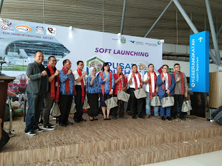 Soft Launching Plaza UKM Pusat Oleh-Oleh Sumut di Area Bandara Kualanamu