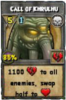 Wizard101 Level 100 Death Spell - Call of Khrulhu (Darkmoor Reward)