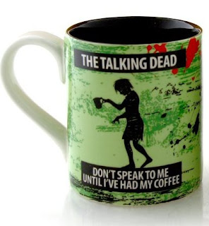 The Talking Dead ZOMBIE coffee mug