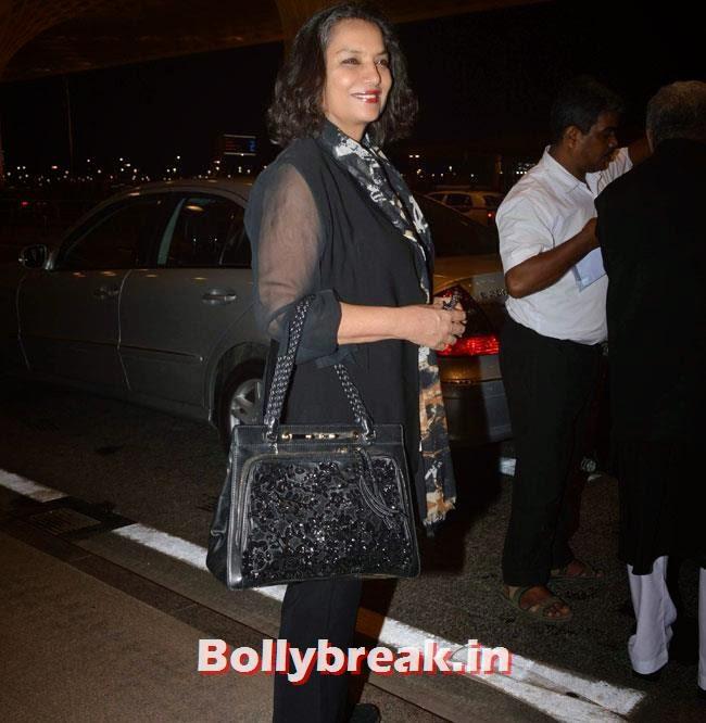 Shabana Azmi, Richa Chadda, Sonakshi Sinha, Asin Leave for For IIFA 2014