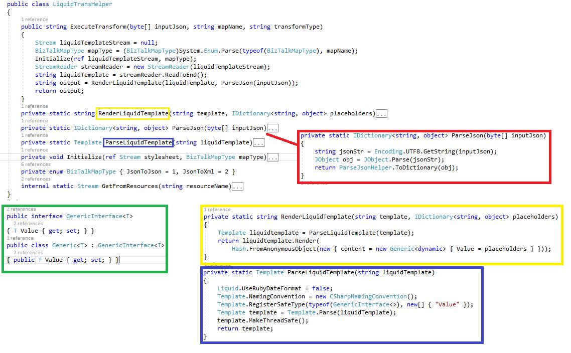 Microsoft Integration Platform (BizTalk and Azure iPaaS): Liquid