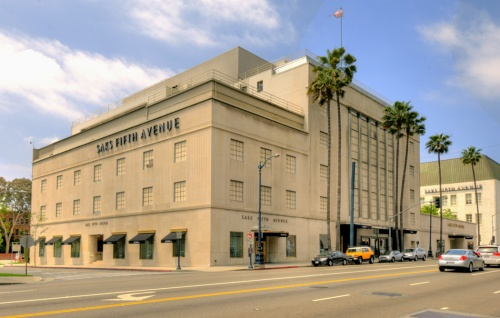 Saks Fifth Avenue em Los Angeles