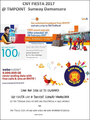 CNY FIESTA 2017 @TMpoint Sunway Damansara