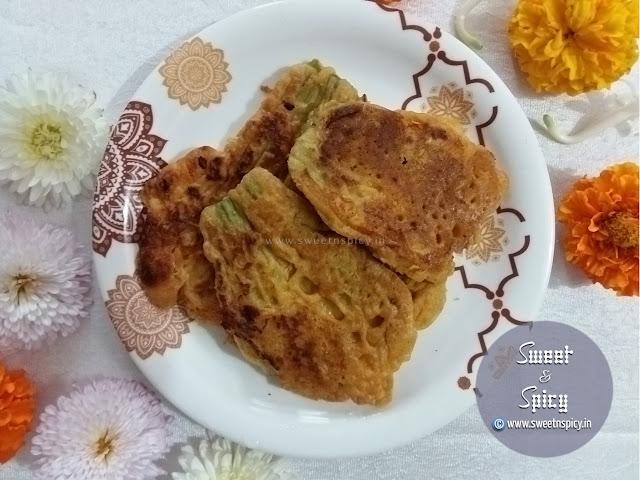 Kakharu Phula Bara (Pumpkin Flower Fritters)