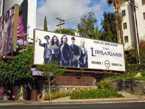 The Librarians season 1 TNT billboard