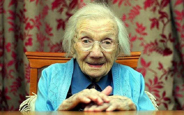 Una mujer de 109 años afirma que el secreto para una vida larga es evitar a los hombres