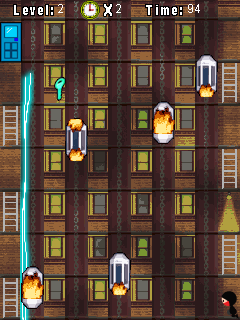 Ninja the Rescuer game ponsel Java jar