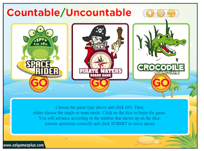 http://www.eslgamesplus.com/countable-uncountable-nouns-game/