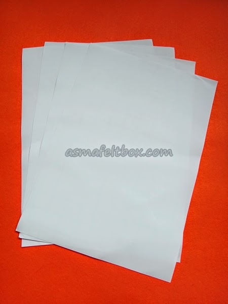 New Item: Transfer Paper