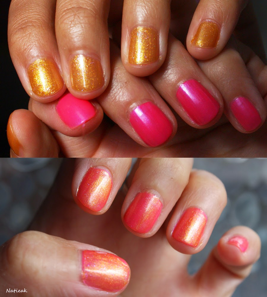 vernis à ongles Sinful Colors  Daredevil  et This is it
