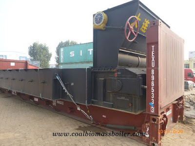 15 tons per hour Anthracite Coal Steam Boiler was Delivered to Vietnam