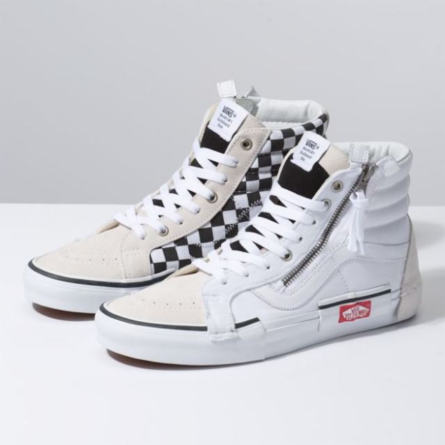 vans checkerboard sk8 hi reissue cap skate shoes ph. Black Bedroom Furniture Sets. Home Design Ideas