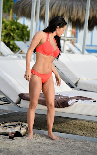 Casey Batchelor in Bikini at on Holiday in Tenerife