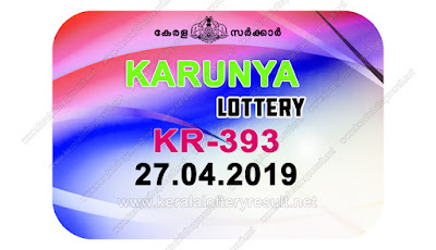 KeralaLotteryResult.net, kerala lottery kl result, yesterday lottery results, lotteries results, keralalotteries, kerala lottery, keralalotteryresult, kerala lottery result, kerala lottery result live, kerala lottery today, kerala lottery result today, kerala lottery results today, today kerala lottery result, Karunya lottery results, kerala lottery result today Karunya, Karunya lottery result, kerala lottery result Karunya today, kerala lottery Karunya today result, Karunya kerala lottery result, live Karunya lottery KR-393, kerala lottery result 27.04.2019 Karunya KR 393 20 april 2019 result, 27 04 2019, kerala lottery result 27-04-2019, Karunya lottery KR 393 results 27-04-2019, 20/04/2019 kerala lottery today result Karunya, 27/4/2019 Karunya lottery KR-393, Karunya 27.04.2019, 27.04.2019 lottery results, kerala lottery result April 20 2019, kerala lottery results 27th April 2019, 27.04.2019 week KR-393 lottery result, 27.04.2019 Karunya KR-393 Lottery Result, 27-04-2019 kerala lottery results, 27-04-2019 kerala state lottery result, 27-04-2019 KR-393, Kerala Karunya Lottery Result 27/4/2019