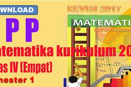 RPP Kelas 4 Kurikulum 2013 Revisi 2017 Semester 1