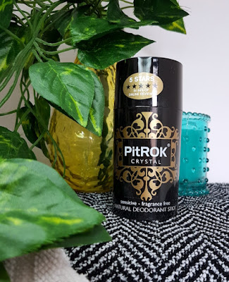 PitRok Crystal Original Natural Deodorant Stick