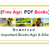 Important Agricultural And Allied PDF Books: Download