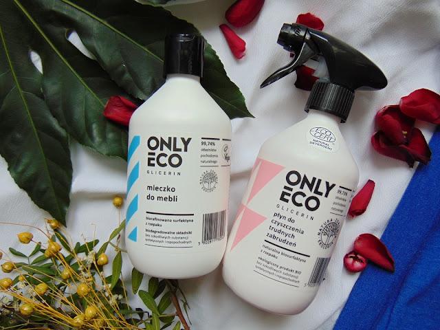 Only Eco - Mleczko do mebli i Płyn do czyszczenia trudnych zabrudzeń
