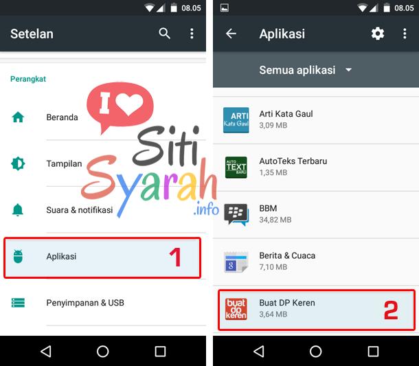 cara hapus data aplikasi android terbaru