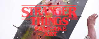 Personajes de Stranger Things convertidos en tortitas