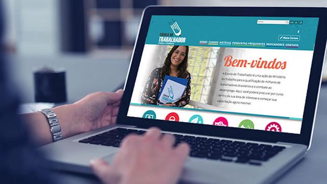 Escola do Trabalhador tem cursos online grátis; saiba como participar