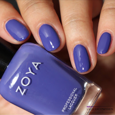 Nail polish swatch and review of Zoya Danielle from the Winter 2017 Party Girls collection