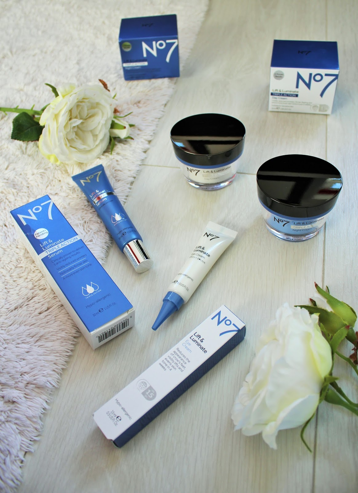 No7 Lift & Luminate Triple Action Range - First Impressions and Giveaway 2
