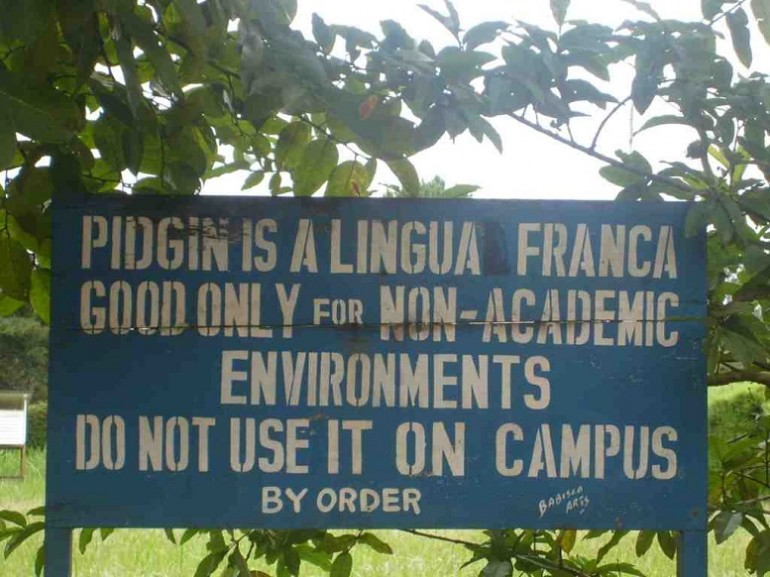 A spoken corpus of cameroon pidgin english cameroon pidgin english cpe is a pidgincreole language variety that has been heavily stigmatised and to date has not been extensively codified publicscrutiny