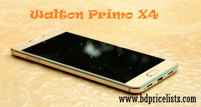 Walton Primo X4 Mobile Full Specifications & Price In Bangladesh