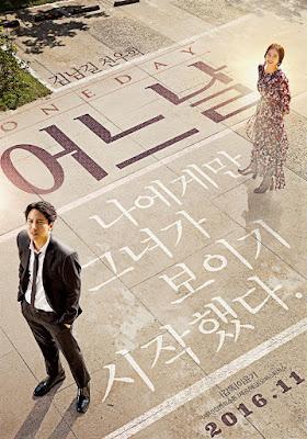 menceritakan tentang seorang agen asuransi bernama Kang Soo  Film Korea One Day Subtitle Indonesia