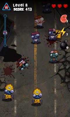 Free Download Zombie Smasher Apk v1.6 Mod (Brains/Ad-Free)