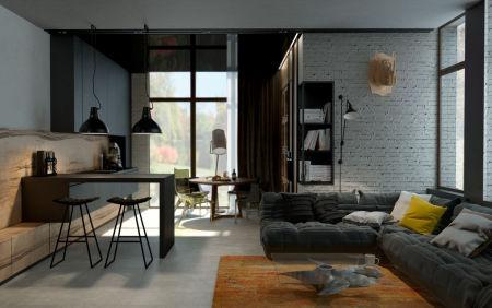 Industriele meubels voor een industriele inrichting for Huiskamer meubels