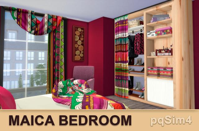 Detalle dormitorio Maica 16