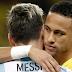 """Neymar: """"El Balón de Oro lo merece Lionel Messi"""""""