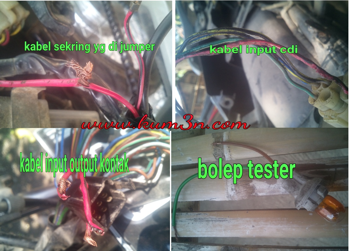 Jalur Kabel Body Vario 110