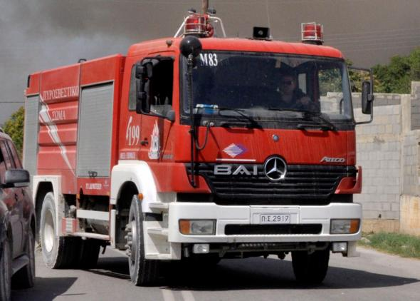 Φωτιά σε εργοστάσιο μεταξύ Άργους και Νέας Κίου
