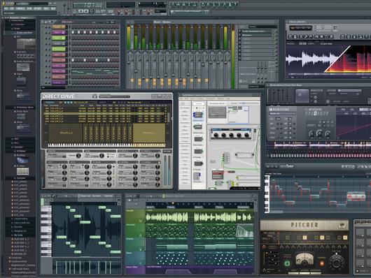 حصرى عملاق برامج الدى جى  والتاثيرات الصوتيه FL Studio 9.6 FINAL