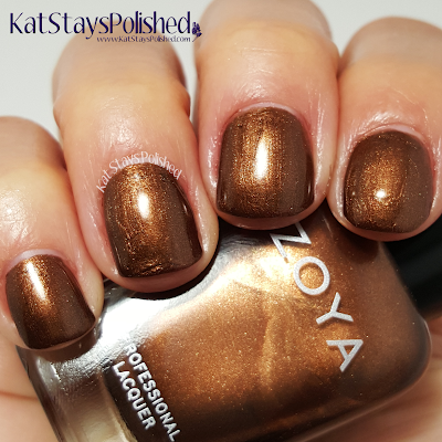 Zoya Flair 2015 - Cinnamon | Kat Stays Polished