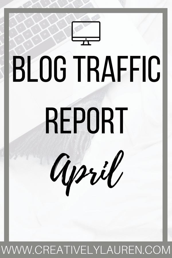 April 2017 Blog Traffic Report