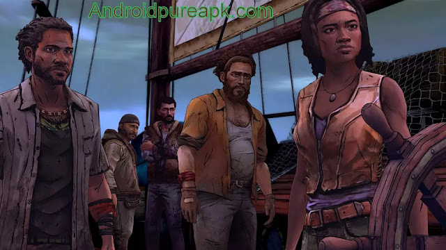 The Walking Dead: Michonne Apk+Data Mod v1.06 Latest Version For Android
