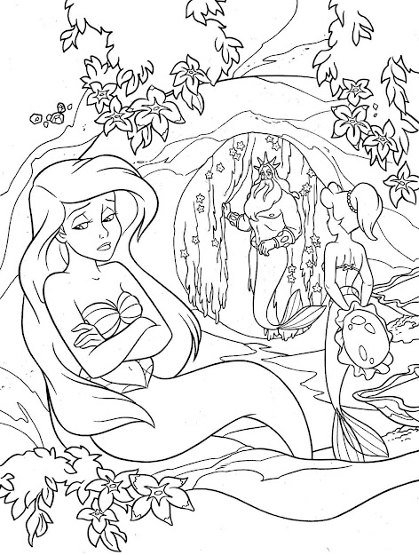 Coloring Pages Ariel Little Mermaid Coloring Pages Mermaid Coloring Pages  Barbie Mermaid Coloring