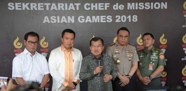 Asian Games 2018, Pengamat: Biar Tekor Asal Kesohor