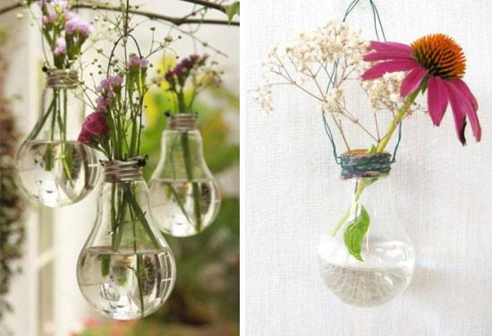 How to turn bulbs into planting pots