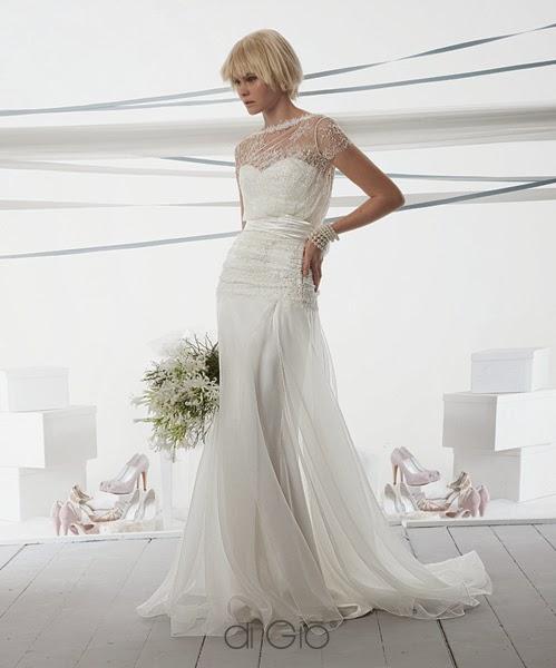 abito da sposa Le Spose di Giò 2014 e nozze simply-chic