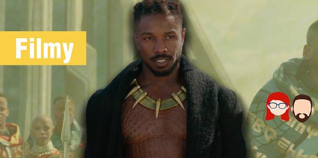 killmonger, black panther, czarna pantera, marvel, mcu, filmy, recenzja