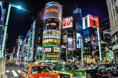 Gemerlap Aura Kemewahan Di Ginza