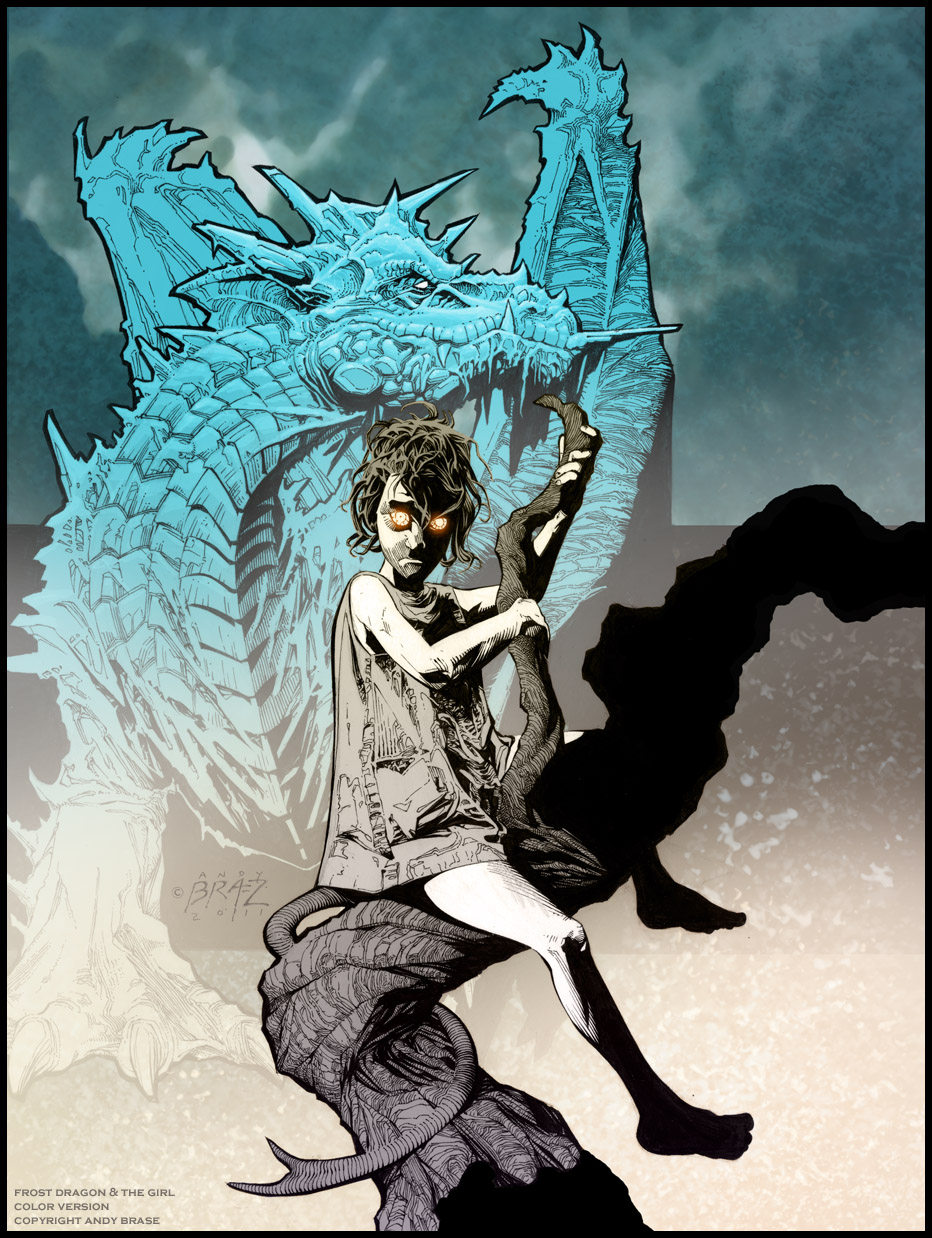 Frost Dragon: : Runic Piranha Studios : Art Of Andy Brase: Frost Dragon
